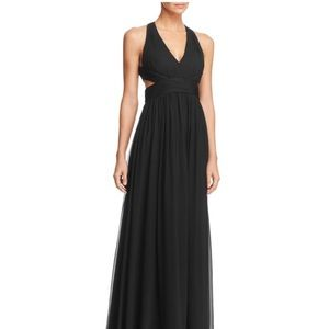 Aidan by Aidan Mattox Cutout Gown